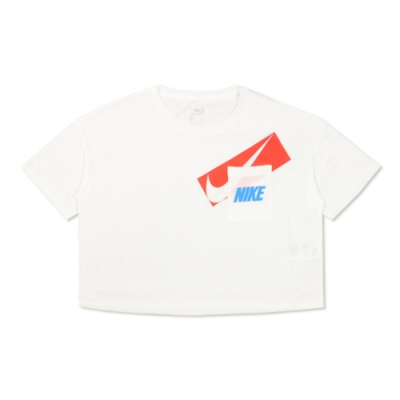Nike 女 AS W NK DRY GRX CROP TOP 圓領T(短)