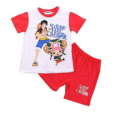 男童航海王純棉短袖套裝 k50170 魔法Baby