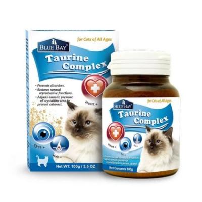 【BLUE BAY】倍力 護貓胺 天然牛磺酸 100g/3.5oz(購買第二件贈送寵鮮食零食1包 )