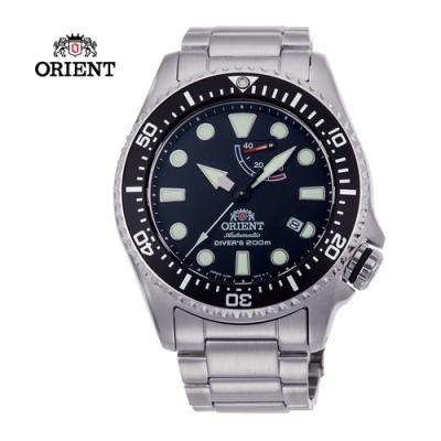 ORIENT 東方錶 WATER RESISTANT系列200m潛水錶-黑色43.4 mm