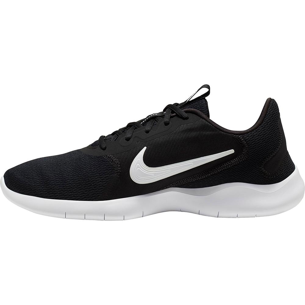 NIKE 慢跑鞋 運動 休閒 輕量 男鞋 黑 白 CD0225001 Flex Experience Run 9