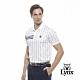 【Lynx Golf】男款吸汗速乾抗UV滿版Lynx印花短袖POLO衫-白色 product thumbnail 2
