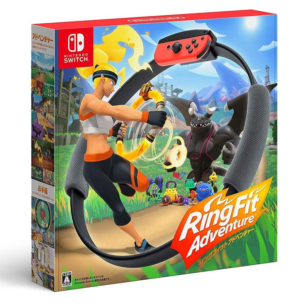 (預購)Nintendo Switch 健身環大冒險+專屬控制器Ring-Con日版中文版