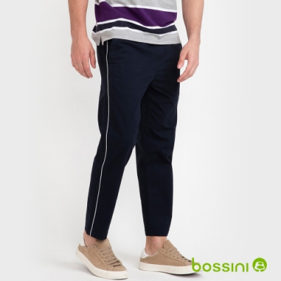 bossini男裝-彈性九分褲02海軍藍