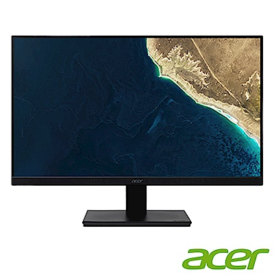 時時樂限定 Acer V227Q 22型美型窄邊框電腦螢幕
