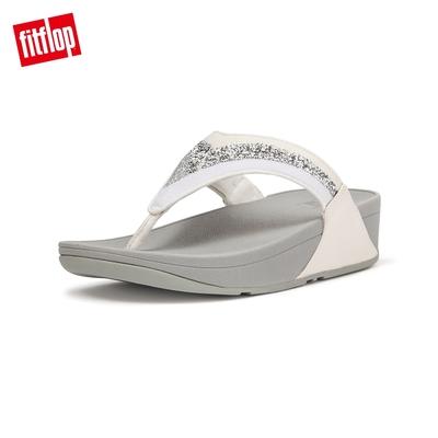 FitFlop LULU OMBRE GLITTER TOE-POST SANDALS 經典夾腳涼鞋-女(都會白)
