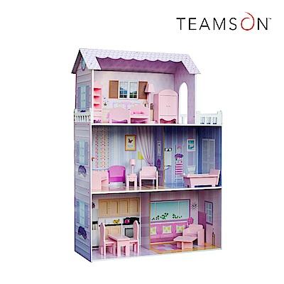 Teamson 夢幻豪宅蒂芬妮奇境芭比娃娃屋(13件組)