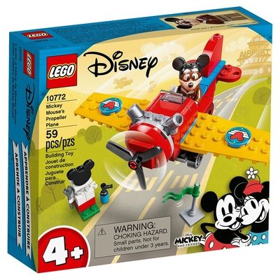 樂高LEGO 迪士尼系列 - LT10772 Mickey Mouse s Propeller Plane