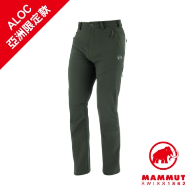 【Mammut】Winter Hiking保暖長褲 綠鬣蜥 男#1021-00430