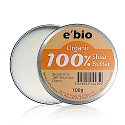 e'bio伊比歐 100%有機乳油木果油-無香味 100g