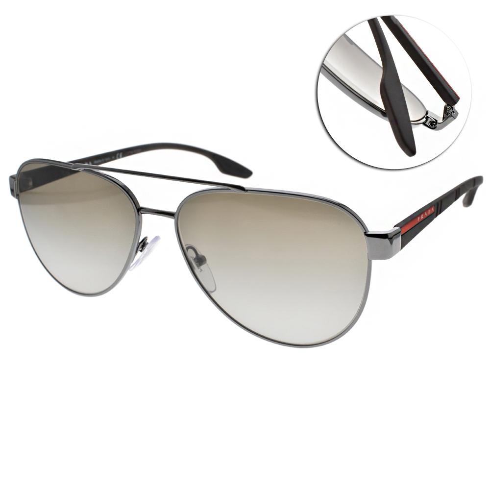 PRADA太陽眼鏡 百搭飛行款/槍#SPS54T 5AV1X1