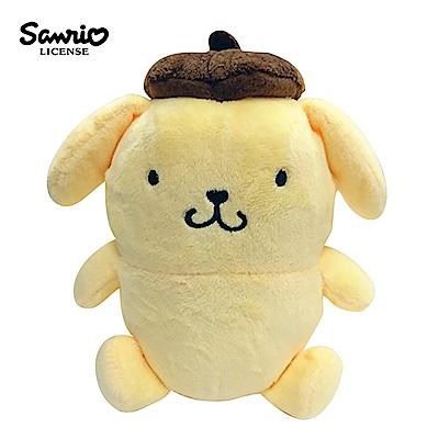 日本正版 布丁狗 三麗鷗 豆豆絨毛玩偶 拍照玩偶 Sanrio 006197