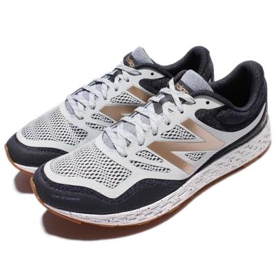 New Balance 慢跑鞋 MTGOBIWB 2E 運動 男鞋 白 藍 金 緩震設計 膠底 運動鞋
