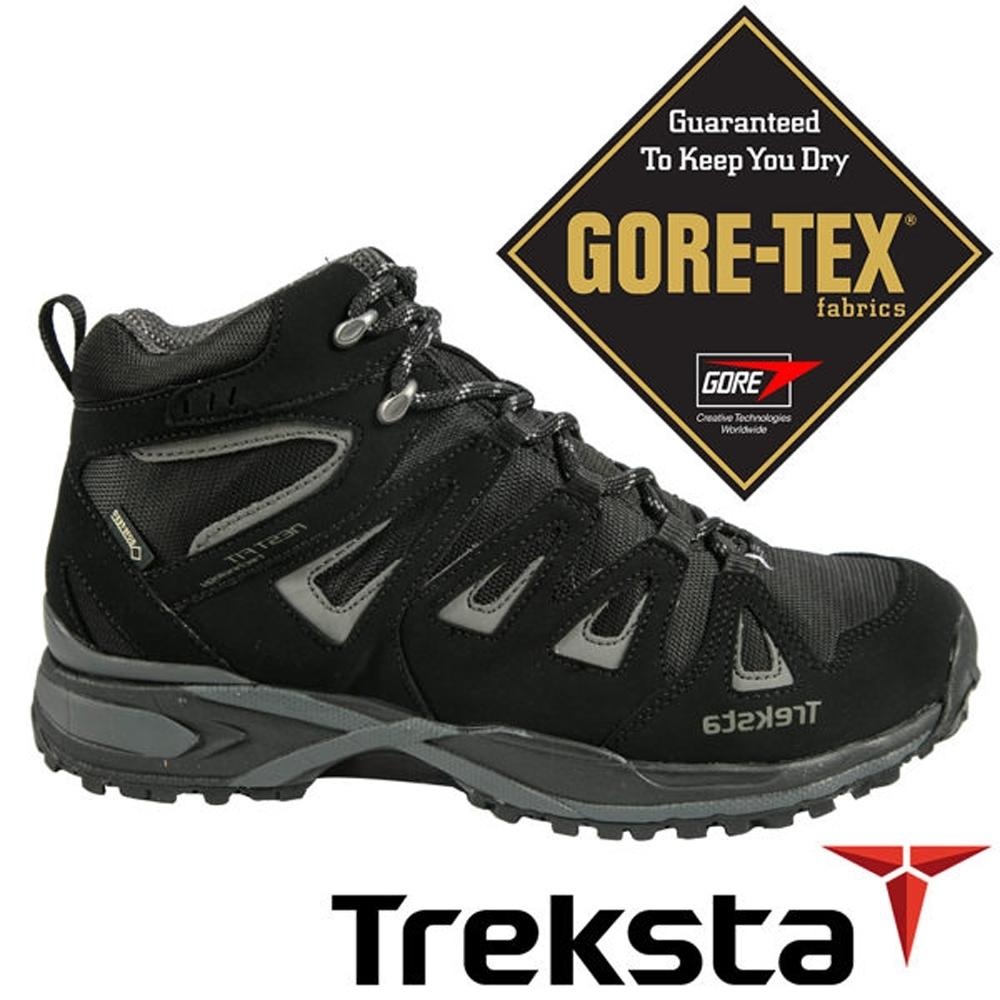 【時時樂限定】Treksta 男 Gore-Tex 防水中筒健行鞋/防水高筒登山鞋