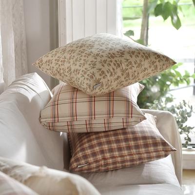 完美主義 美式鄉村風45x45純棉靠枕套-2入組/韓國製/枕套/枕頭套/抱枕套(3色)