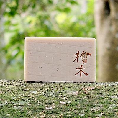 文山手作皂-淨心檜木_沐浴皂