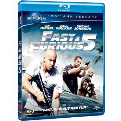 玩命關頭 5 Fast Five  藍光 BD