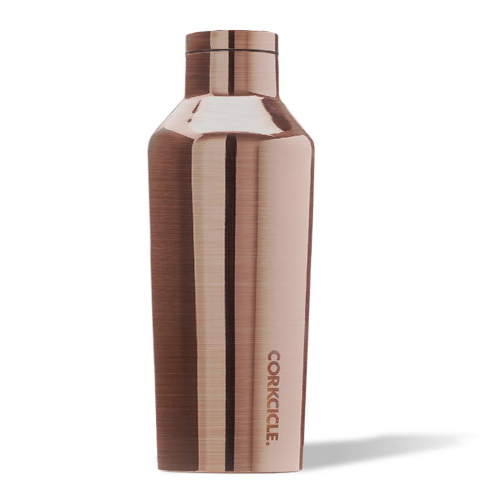 CORKCICLE 酷仕客Metallic系列三層不鏽鋼易口保溫瓶270ml(兩色可選)