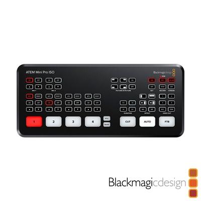 Blackmagic Design ATEM Mini Pro ISO 導播機 直播切換台-公司貨
