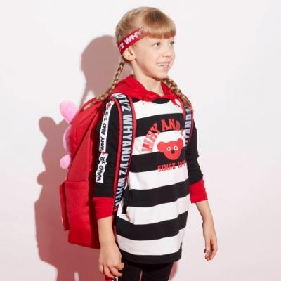 WHY AND 1/2 長版棉質萊卡T恤-親子裝 5Y~10Y