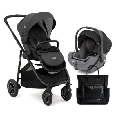 奇哥 Joie versatrax 多功能三合一手推車+i-Level ISOFIX 嬰兒提籃汽座
