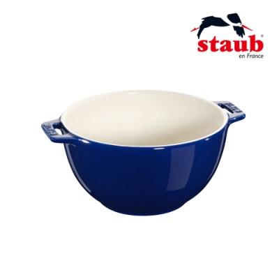 法國Staub 陶瓷沙拉缽 18cm 深藍色
