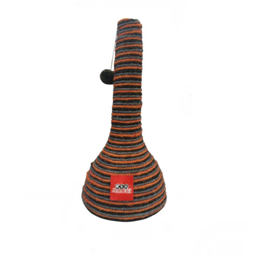 摩多比Mdobi 貓丸家 酒瓶頭造型麻繩貓抓柱 (B款)
