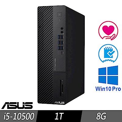 [超值加購] ASUS M700SA 薄型商用電腦 i5-10500/8G/1TB/W10P