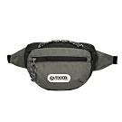 【OUTDOOR】旅遊配件-腰包-灰黑配色 OD191105GB
