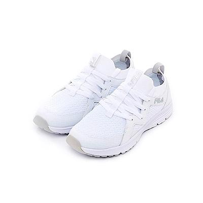 FILA 中性慢跑鞋-白 4-J701T-111