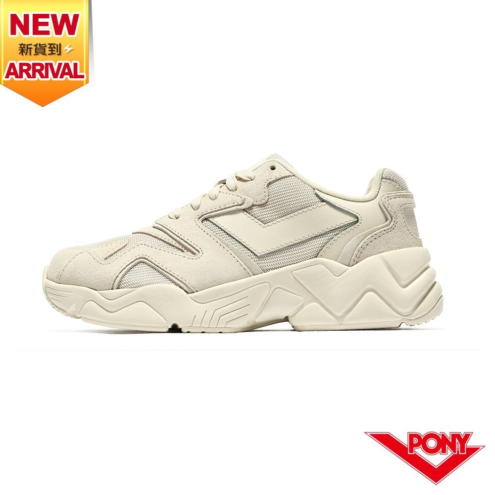 【PONY】MODERN 2 電光鞋 夢幻系慢跑鞋 男鞋-溫柔奶茶