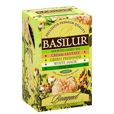 Basilur  花系列錫蘭茶包(1.5gx20入)-4種口味