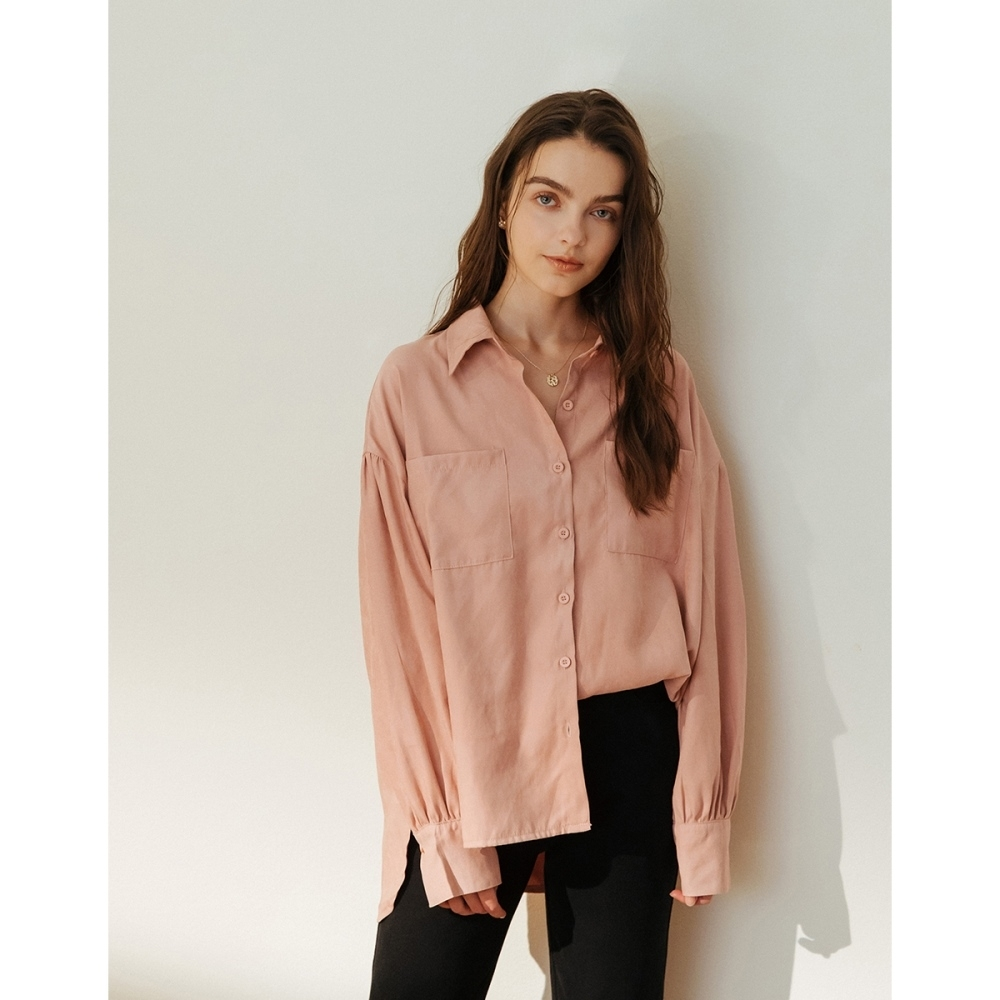 Shester55-澎澎袖造型襯衫(二色)-女【A2SH028】