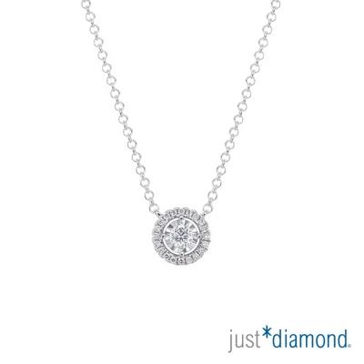 Just Diamond 萬花筒系列 18K金 鑽石鑽鍊