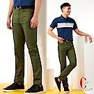 Christian-經典復古彈性牛仔褲_綠色(HS407-3)