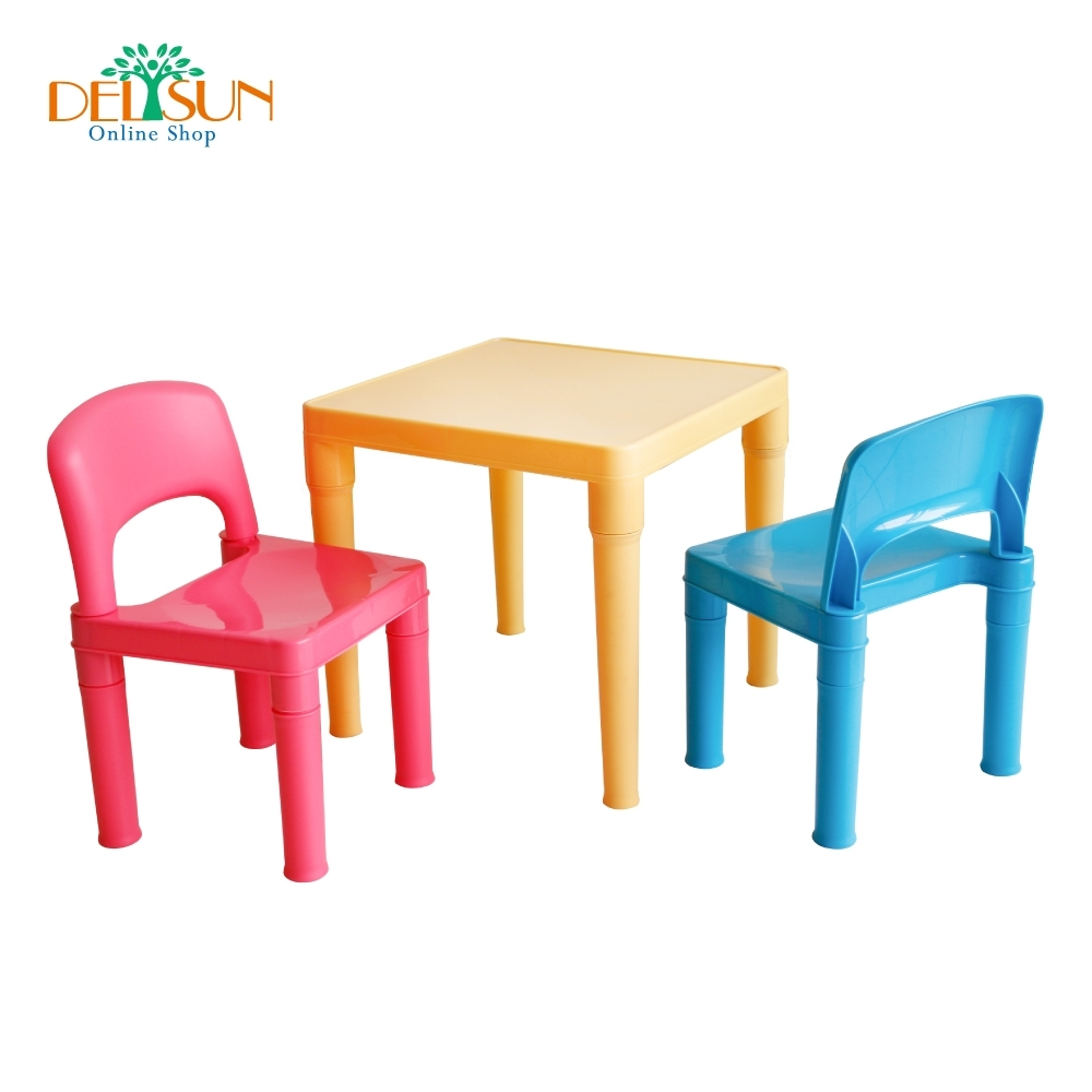 DELSUN 兒童桌椅組 小王子