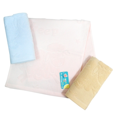 (12入) baby sheep童巾-8985/大嘴貓貓童巾-8986
