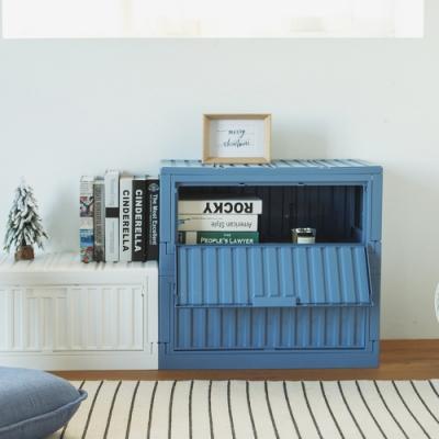 完美主義 側開下掀式收納椅/收納箱/貨櫃/床頭櫃(5色)