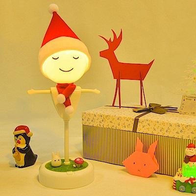 半島良品 守護你稻草人景觀夜燈- 聖誕款