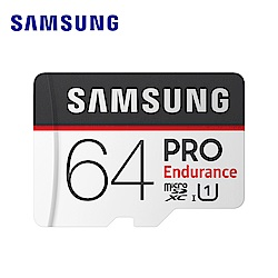 Samsung PRO Endurance microSDXC 64GB 高耐用記憶卡