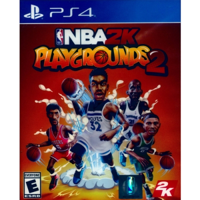 NBA 2K 熱血街球場 2 NBA 2K Playgrounds 2-PS4 中英文美版
