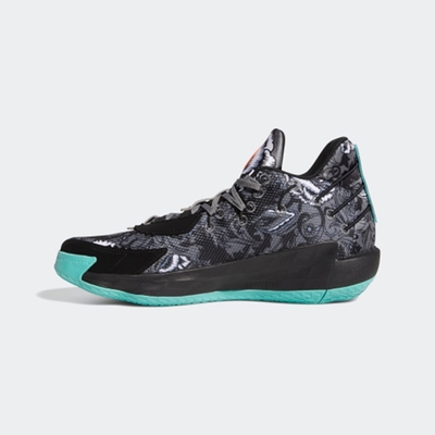ADIDAS Dame 7 GCA 男籃球鞋-黑灰-FX7446