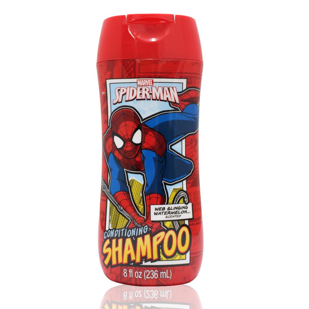 美國熱銷卡通 SPIDER-MAN 洗髮精(236ml/8oz)