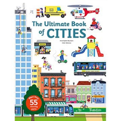 The Ultimate Book Of Cities 忙碌城市翻頁推拉書