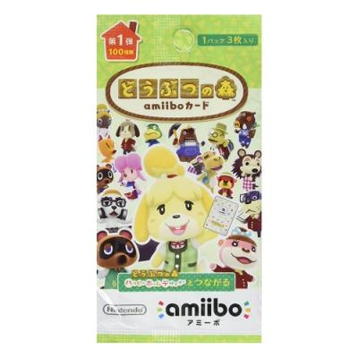 amiibo 卡片 動物之森 第一彈(50包)
