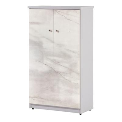 文創集 巴卡環保2.1尺塑鋼二門鞋櫃(八色可選)-65x36.5x117cm免組