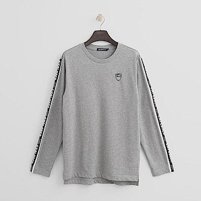 Hang Ten - 男裝 - 個性標語T恤-灰色