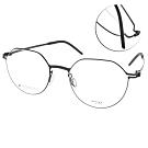 VYCOZ眼鏡 DURRA系列 薄鋼 微寶石造型款 /黑 #DR9007 BLK