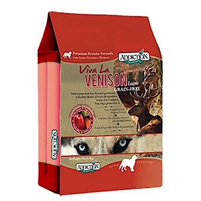 Addiction自然癮食 無穀鹿肉寵食犬糧 454G 兩包組
