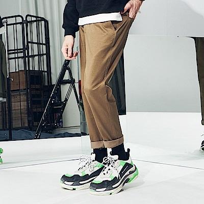 CACO-厚款西裝九分褲-(兩色)-男【QNC060】